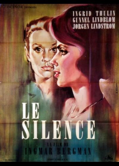 affiche du film SILENCE (LE)