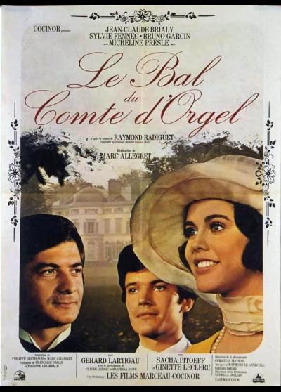 affiche du film BAL DU COMTE D'ORGEL (LE)