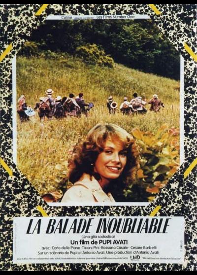 affiche du film BALADE INOUBLIABLE (LA)