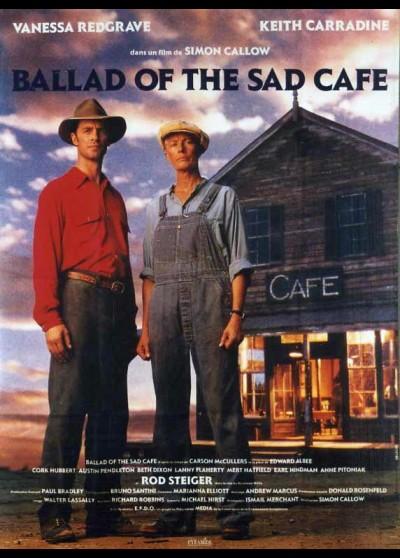 affiche du film BALLAD OF THE SAD CAFE