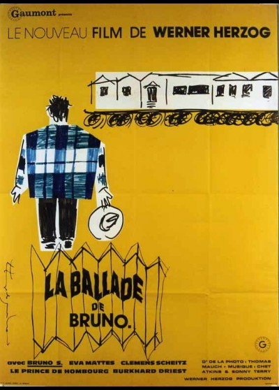 affiche du film BALLADE DE BRUNO (LA)