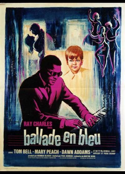 affiche du film BALLADE EN BLEU