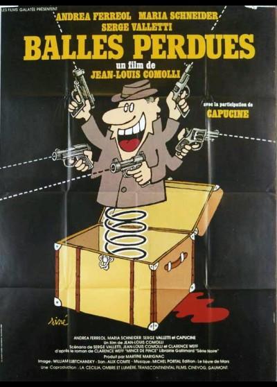 affiche du film BALLES PERDUES
