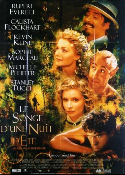 affiche du film SONGE D'UNE NUIT D'ETE (LE)