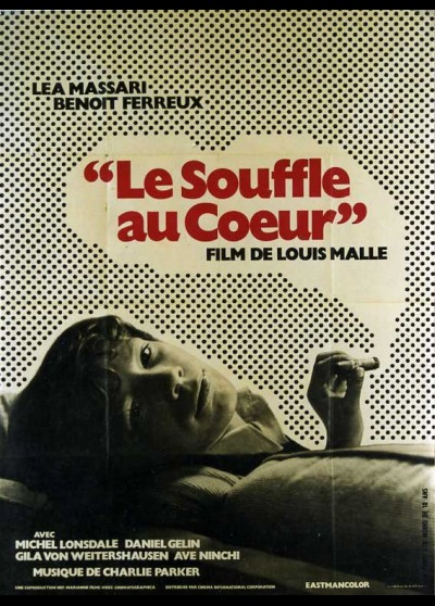 SOUFFLE AU COEUR (LE) movie poster