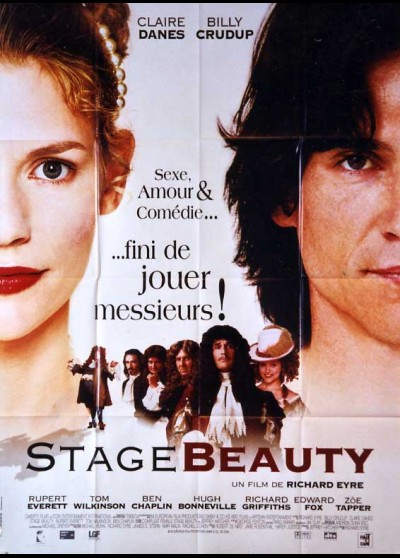 affiche du film STAGE BEAUTY