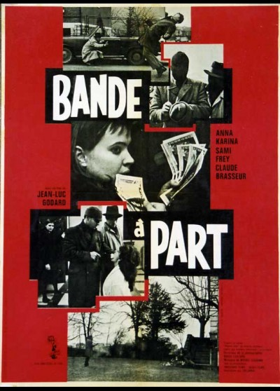 BANDE A PART movie poster