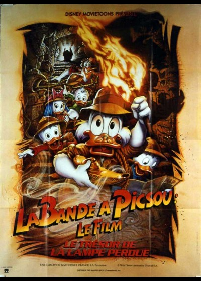 DUCKTALES THE MOVIE THE TREASURE OF THE LOST LAMP movie poster