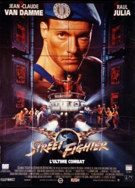 affiche du film STREET FIGHTER