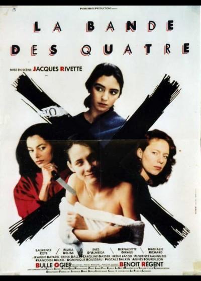 affiche du film BANDE DES QUATRE (LA)
