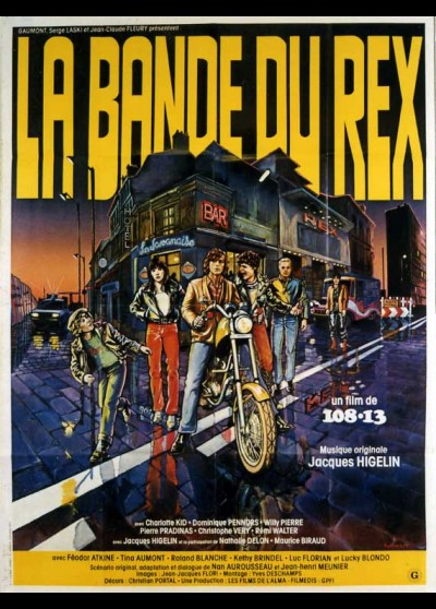 affiche du film BANDE DU REX (LA)