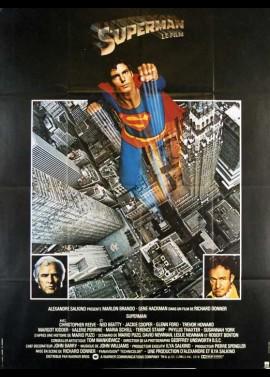 affiche du film SUPERMAN