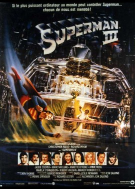 SUPERMAN 3 movie poster