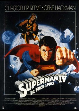 SUPERMAN 4 THE QUEST FOR PEACE movie poster