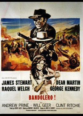 BANDOLERO movie poster