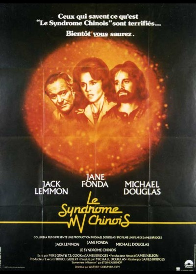 CHINA SYNDROME (THE) movie poster