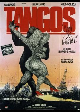 affiche du film TANGOS L'EXIL DE GARDEL
