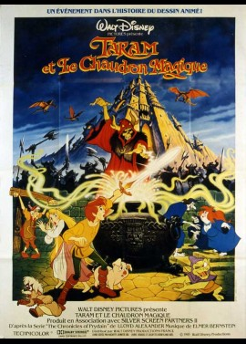 BLACK CAULDRON (THE) movie poster
