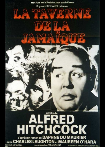JAMAICA INN movie poster