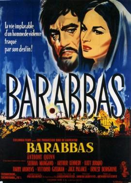 BARABBAS movie poster