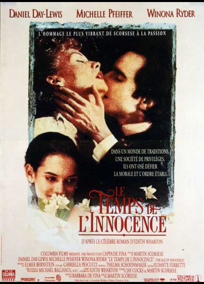 AGE OF INNOCENCE (THE) movie poster