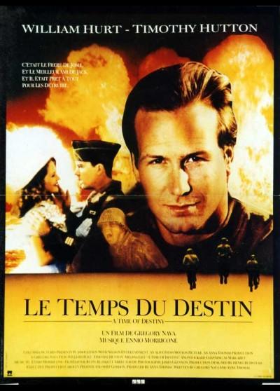 affiche du film TEMPS DU DESTIN (LE)