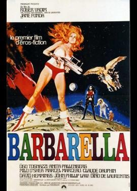 affiche du film BARBARELLA