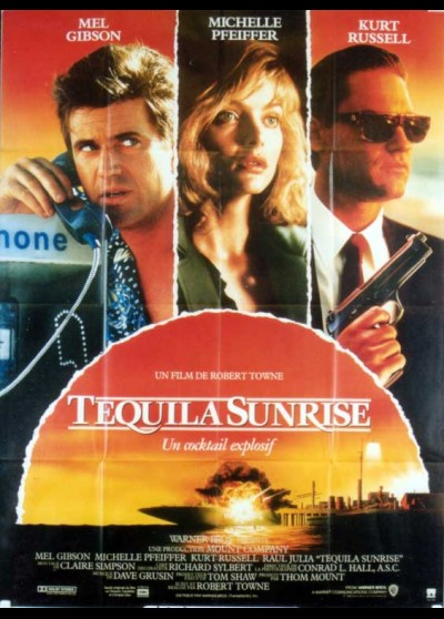 TEQUILA SUNRISE movie poster