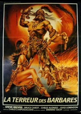 TERRORE DEI BARBARI (IL) / GOLIATH AND THE BARBARIANS movie poster