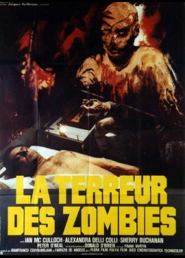 ZOMBI HOLOCAUST / ZOMBI 3 movie poster