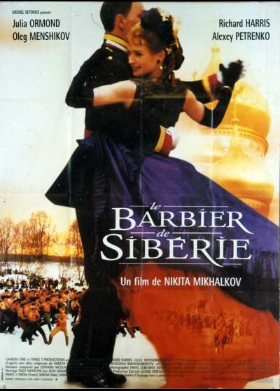 affiche du film BARBIER DE SIBERIE (LE)