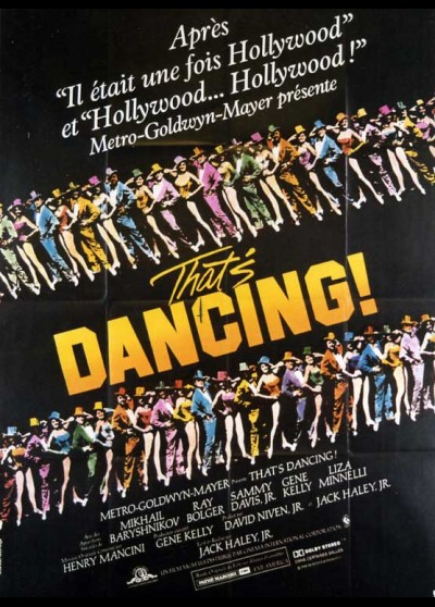 affiche du film THAT'S DANCING