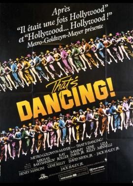 affiche du film THAT'S DANCING