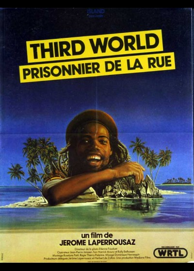 THIRD WORLD / PRISONER IN THE STREETS movie poster