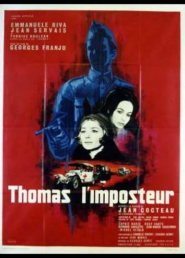 THOMAS L'IMPOSTEUR movie poster