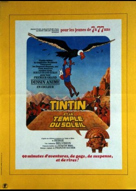 TINTIN ET LE TEMPLE DU SOLEIL movie poster