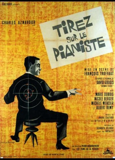 TIREZ SUR LE PIANISTE movie poster