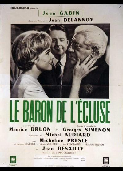 affiche du film BARON DE L'ECLUSE (LE)