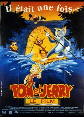 TOM AND JERRY THE MOVIE movie poster