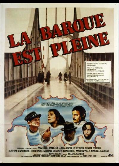affiche du film BARQUE EST PLEINE (LA)