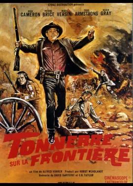 WINNETOU UND SEIN FREUND OLD FIREHAND / WINNETOU THUNDER AT THE BORDER movie poster