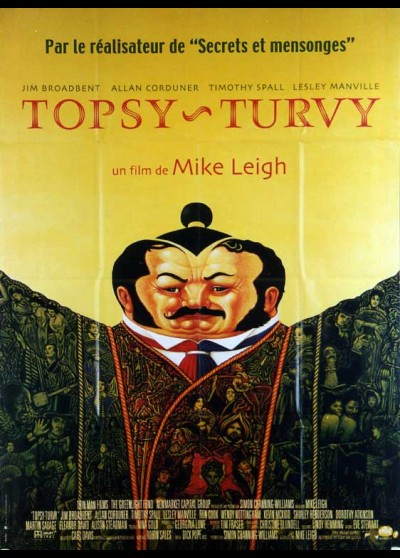 TOPSY TURVY movie poster