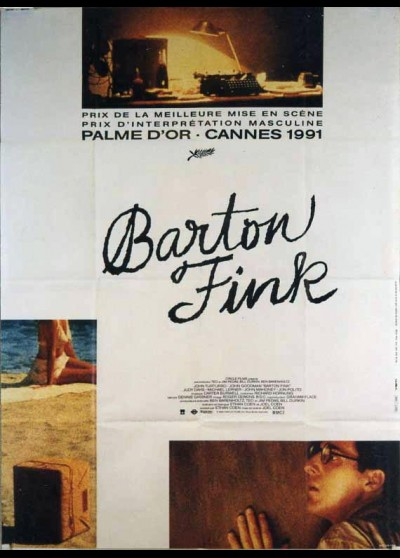 BARTON FINK movie poster