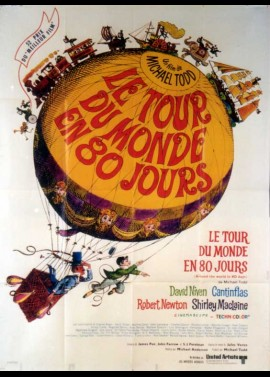 AROUND THE WORLD IN 80 DAYS / AROUND THE WORLD IN EIGHTY DAYS movie poster