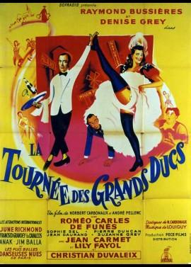affiche du film TOURNEE DES GRANDS DUCS (LA)