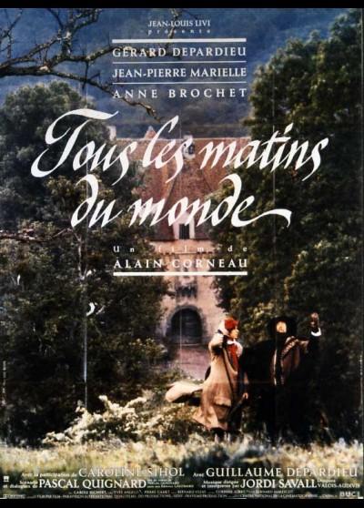 TOUS LES MATINS DU MONDE movie poster
