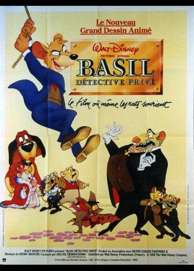 affiche du film BASIL DETECTIVE PRIVE