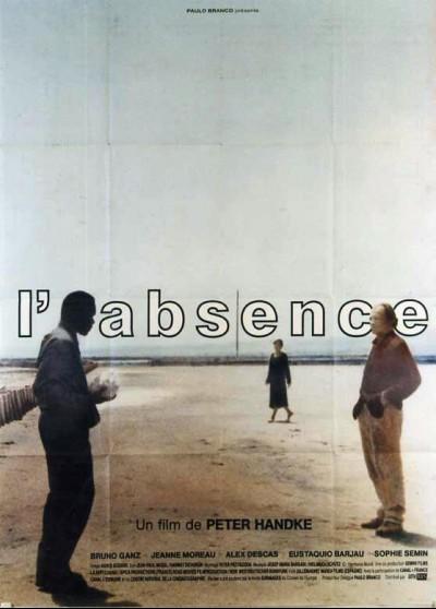 affiche du film ABSENCE (L')