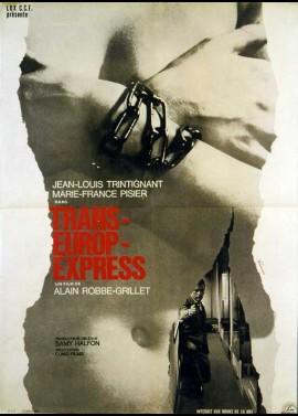 affiche du film TRANS EUROP EXPRESS