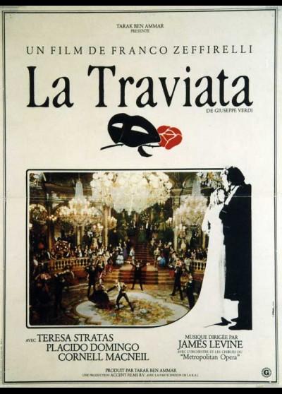 affiche du film TRAVIATA (LA)